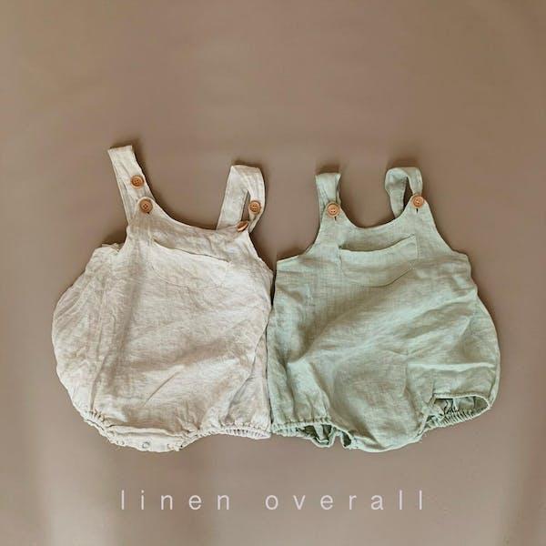 linen overallの画像1枚目