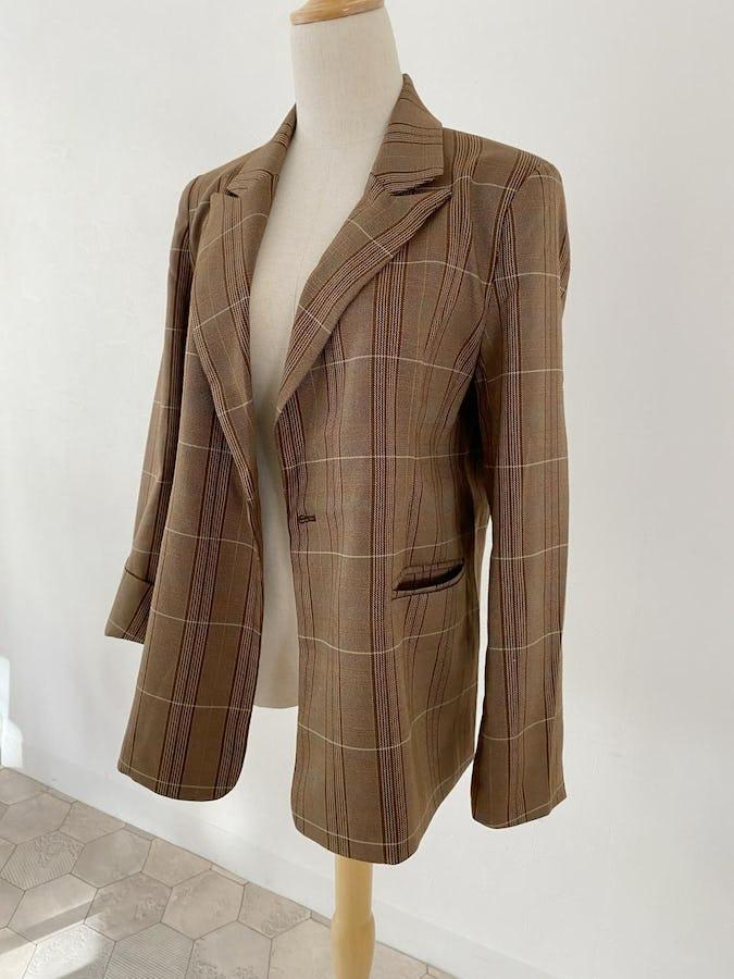 3way check trad jacket