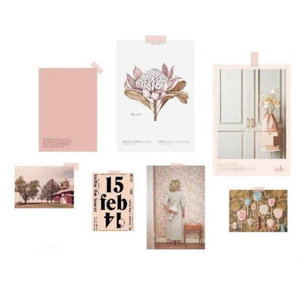 ピンクポストカードセットの画像4枚目