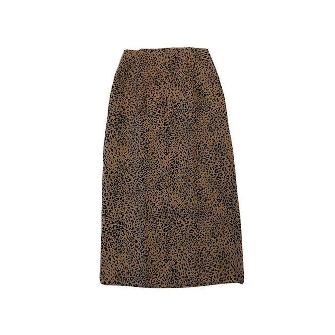レオパードタイトスカート-0
