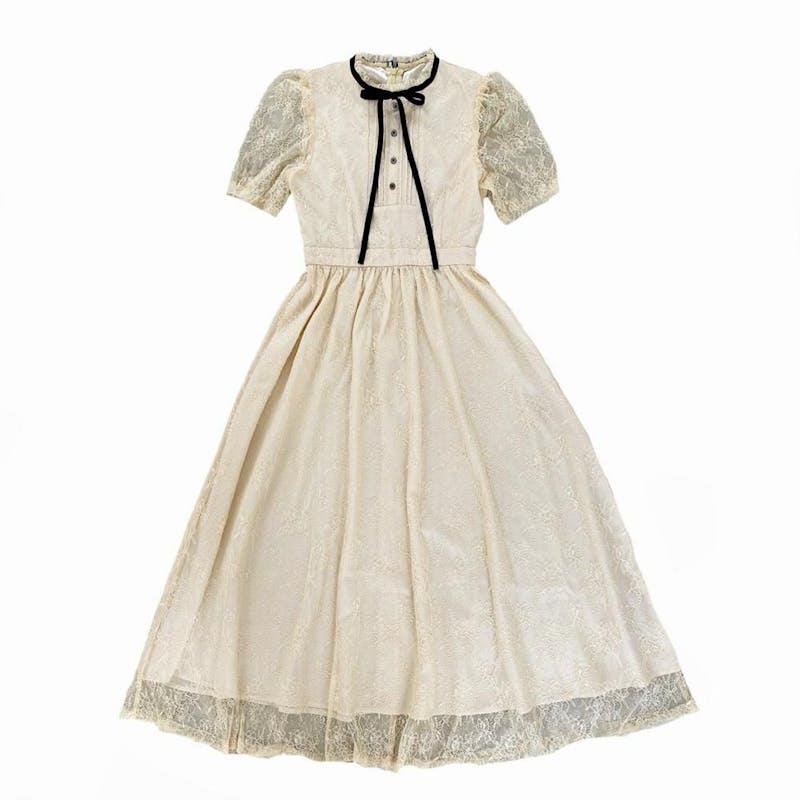 rosemary lace dressの画像1枚目