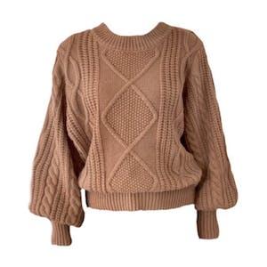 couverture cable knit