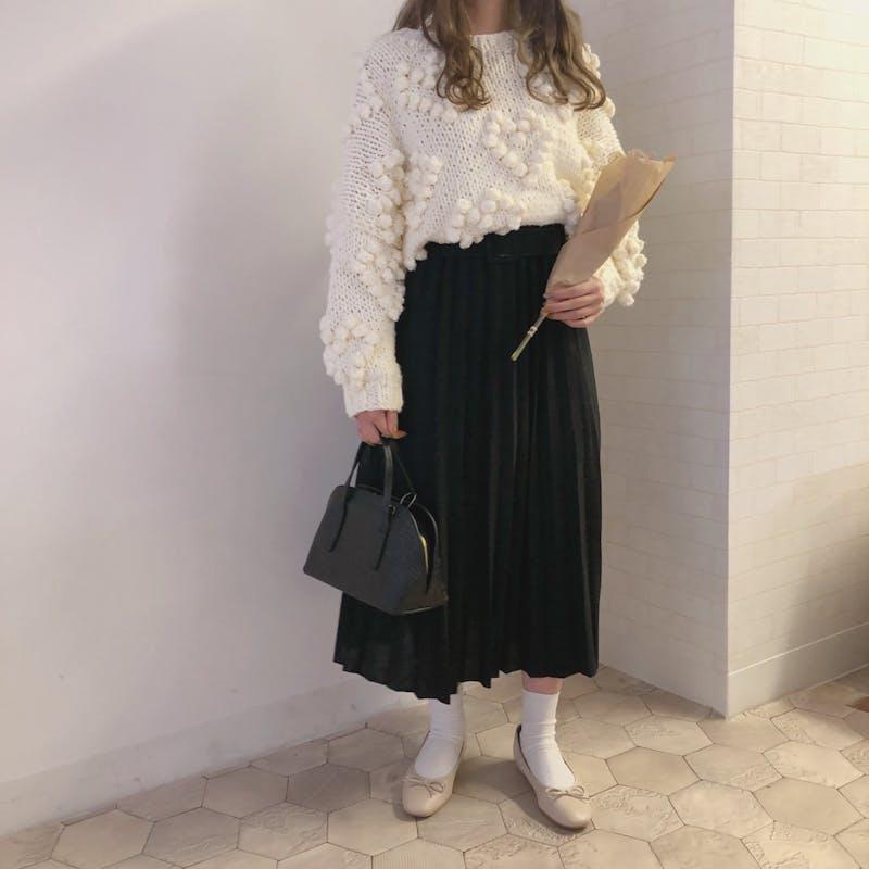 ベルト付きプリーツスカートの画像17枚目
