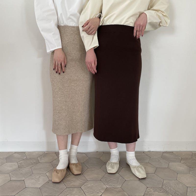 ニットタイトスカートの画像2枚目