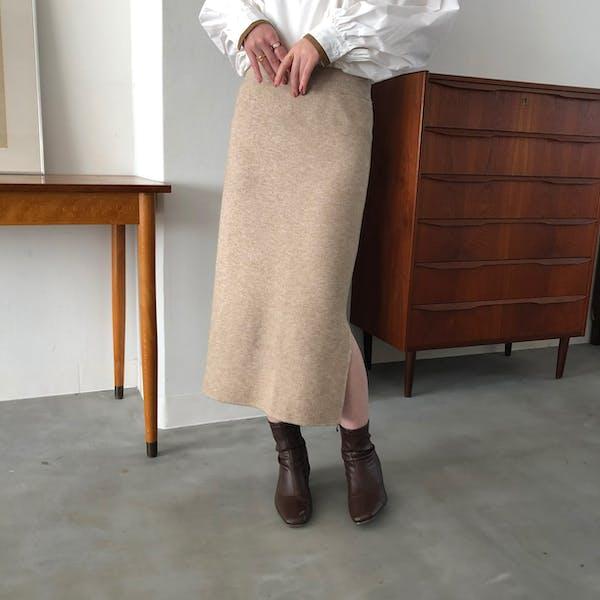 ニットタイトスカートの画像1枚目
