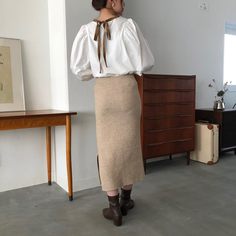 ニットタイトスカートの画像15枚目
