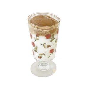 ローズプリントグラス