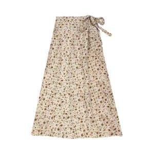 フラワーリボンスカート