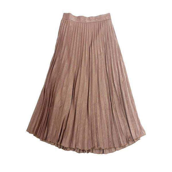 プリーツロングスカートの画像1枚目