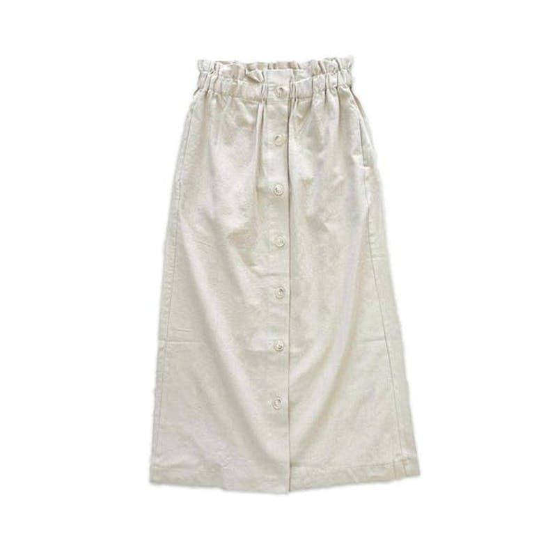 リボンサロペットスカートの画像1枚目