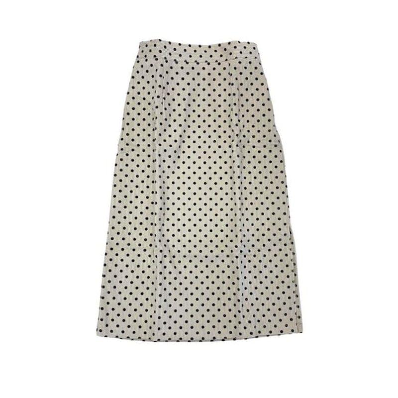 ドットタイトスカートの画像1枚目