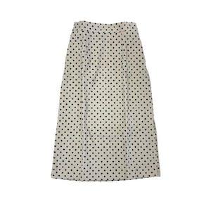 ドットタイトスカート