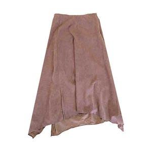 クシュスエードスカート