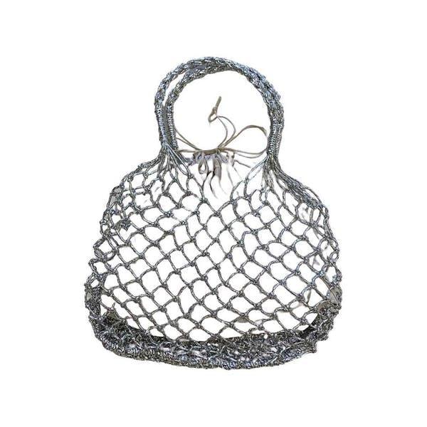 かぎ編みバッグの画像1枚目