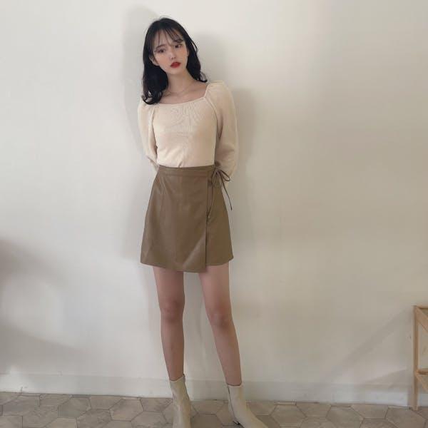 サイドリボンスカートの画像5枚目