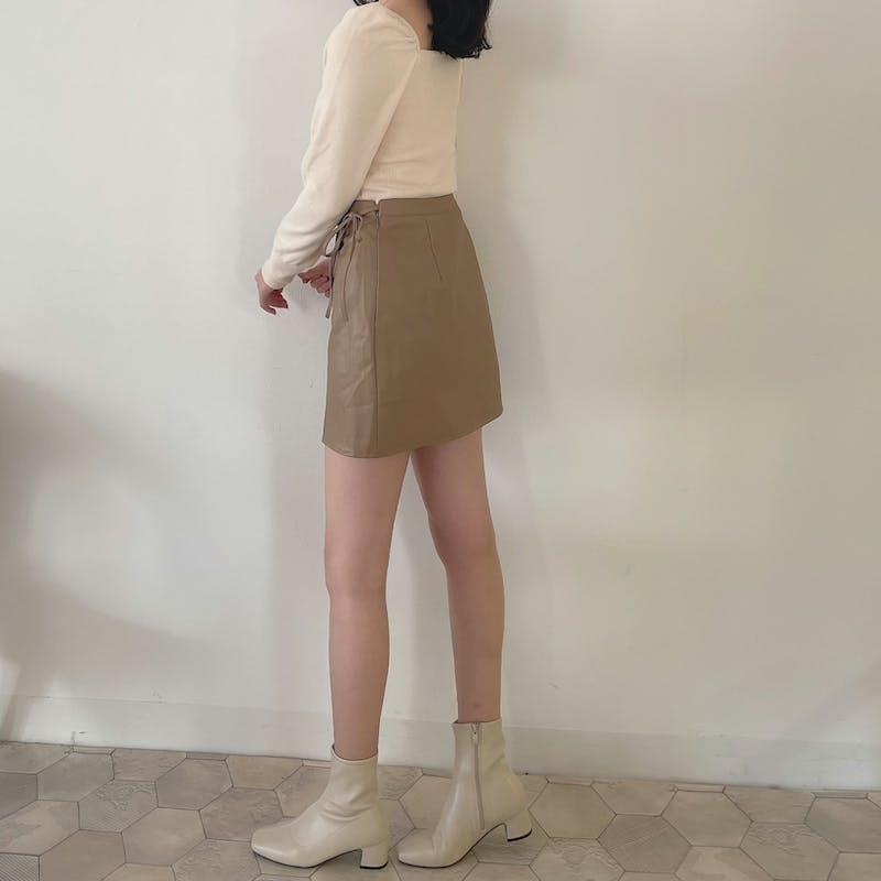 サイドリボンスカートの画像2枚目