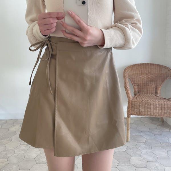 サイドリボンスカートの画像1枚目