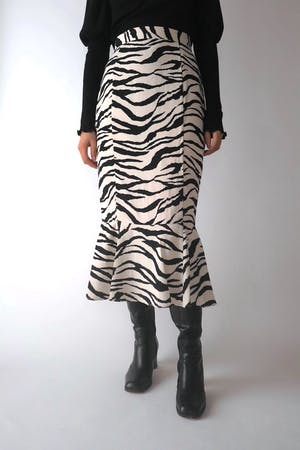 ZEBRA MERMEID SKIRT