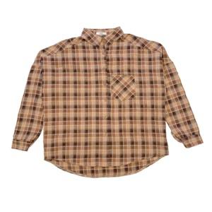 チェックカラーシャツ