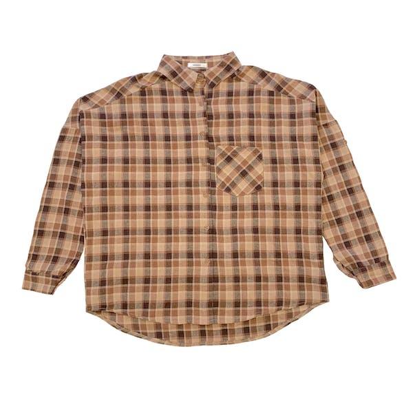 チェックカラーシャツの画像1枚目