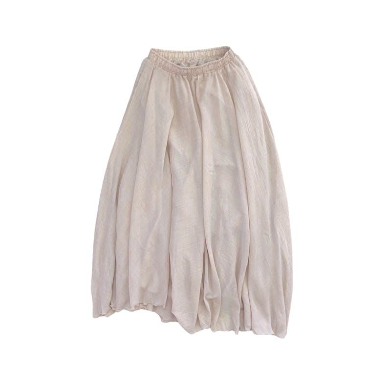 ふわふわロングスカートの画像1枚目