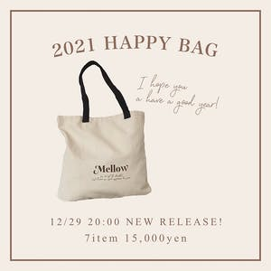 2021 mellowneon HAPPY BAG♡