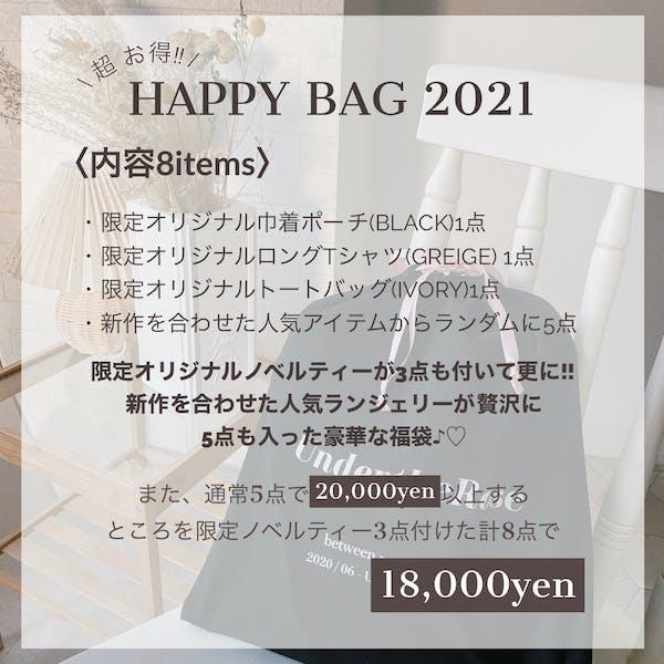 2021 HAPPY BAGの画像2枚目