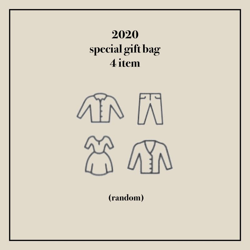 2021 happy new year bag 〈 4 item 〉の画像2枚目