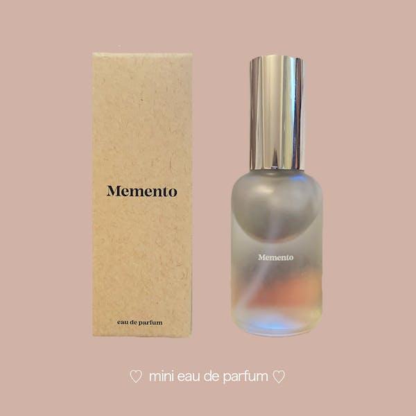 【Memento】ミニオードパルファムの画像1枚目