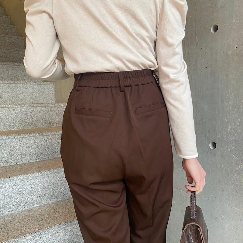 mellow's  リボンスラックスパンツの画像64枚目