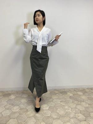 細見えマーメイドスカート【ストレート】