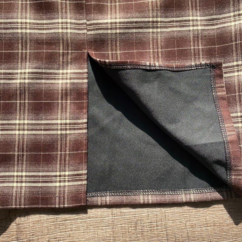 ブラウンチェックタイトスカートの画像15枚目
