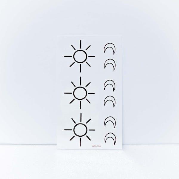 太陽と月[ID: ssl0086]の画像4枚目