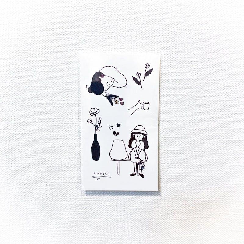 flower girl / カサネ コラボ[ID: scr0427]の画像1枚目