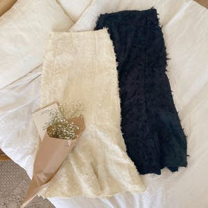 フェザーマーメイドスカート