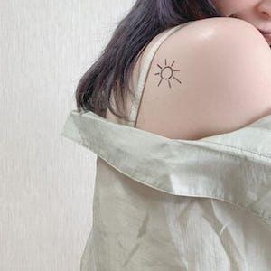 太陽と月[ID: ssl0086]
