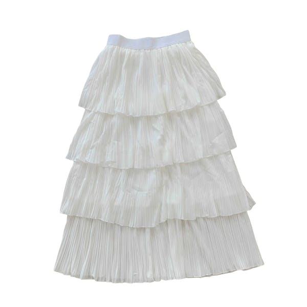 プリーツティアードスカートの画像1枚目
