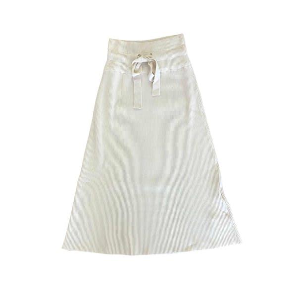 ロングニットスカートの画像1枚目