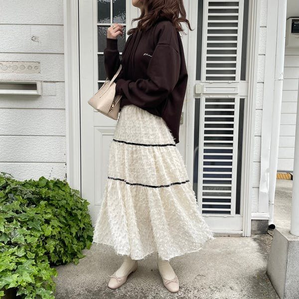モノフェザースカートの画像2枚目