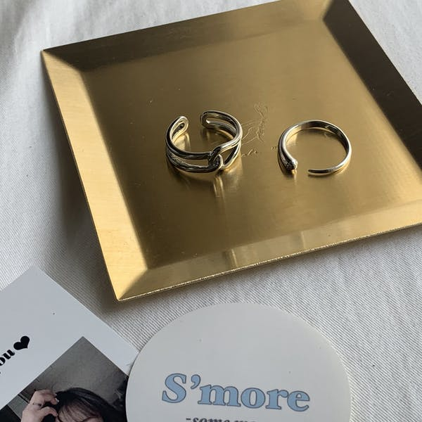 Silver cross ring setの画像8枚目