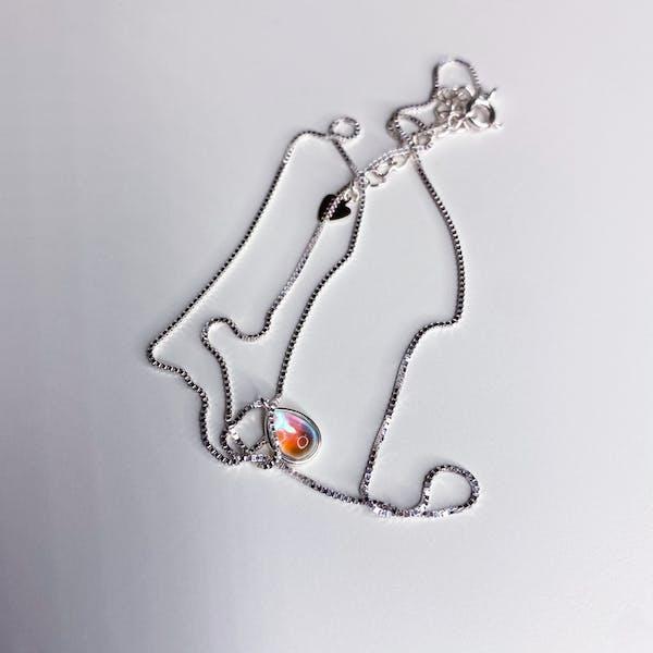 tear moon. necklaceの画像7枚目