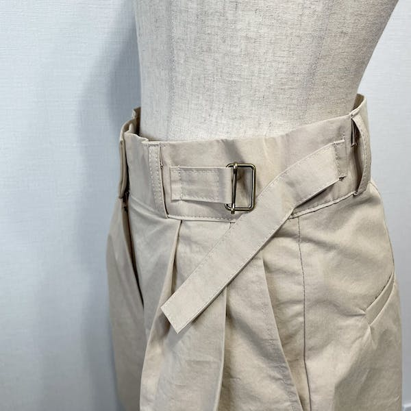 belted short pantsの画像33枚目