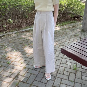 two tack cotton slacks