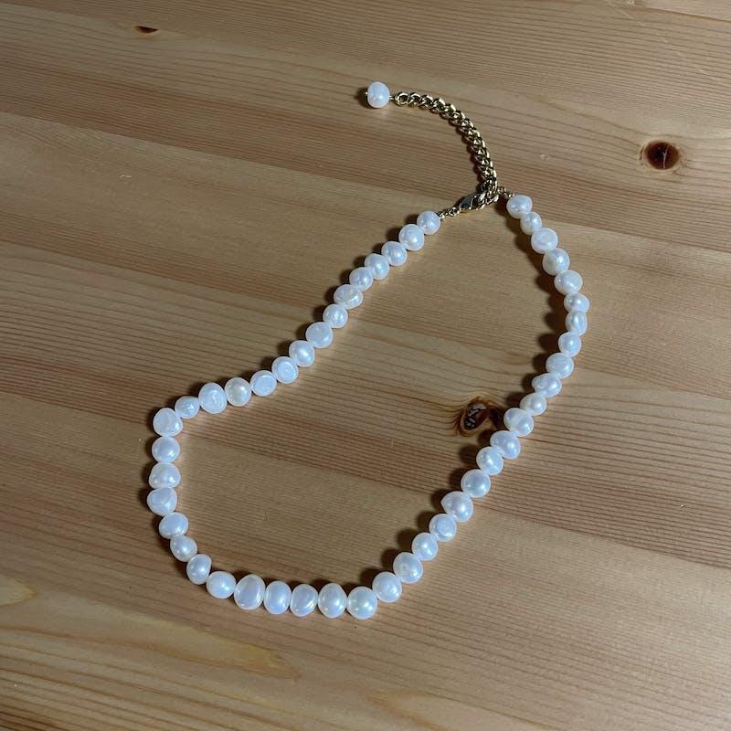 baroque pearl necklaceの画像17枚目