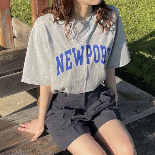 NEWPORT t-shirtの画像1枚目