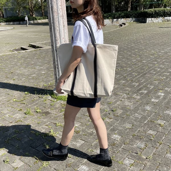 too big tote bagの画像2枚目