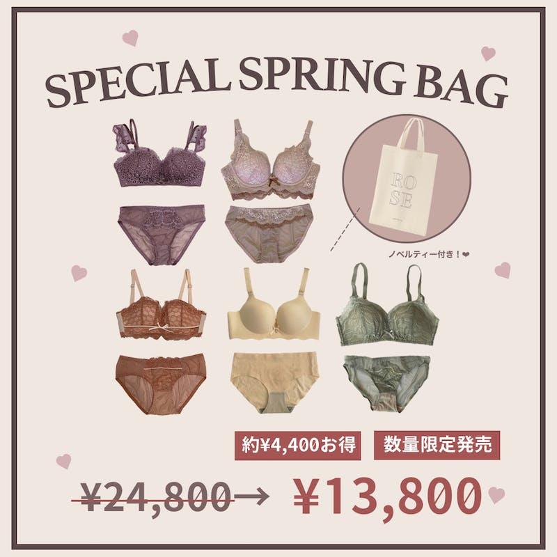 【約10000円お得!】 SPECIAL SPRING BAG 春新作を入れたアイテム5点セットの画像1枚目