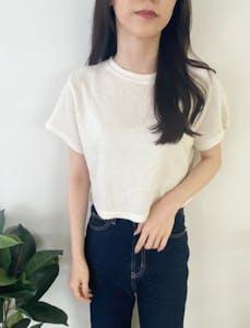 ツイードTシャツ