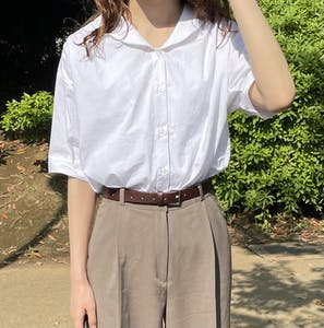 cotton puff blouse