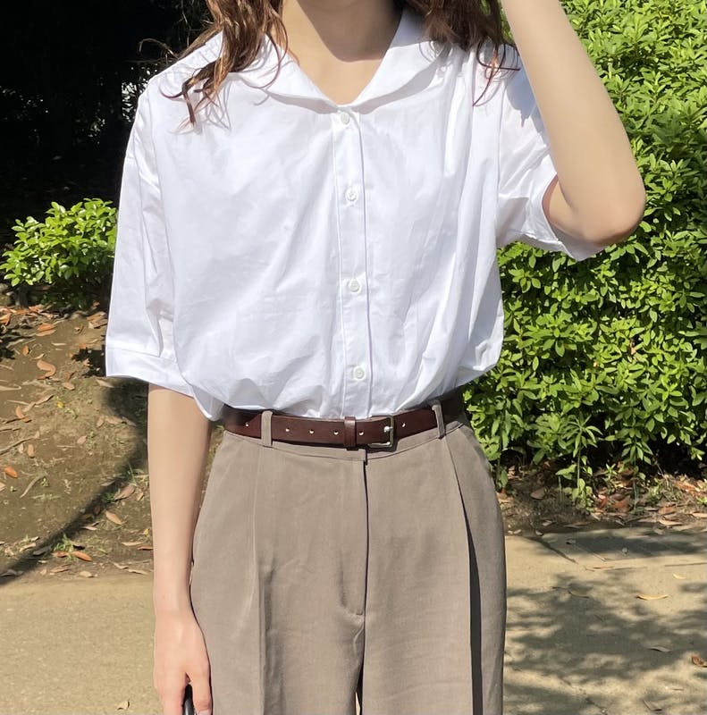 cotton puff blouseの画像1枚目